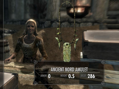 Ancient Nord Amulet