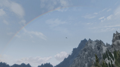 My first Rainbow since Wonders of Weather was released