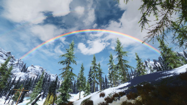 Rainbow in the Pale