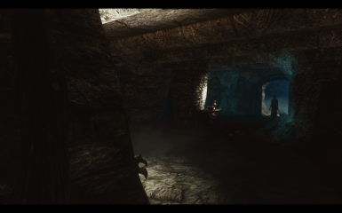 Dungeon with Relighting Skyrim