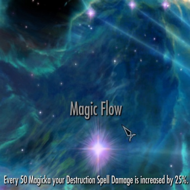 Destruction Spells scale with Magicka