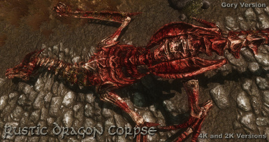 Rustic Dragon Corpse Gory