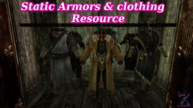 Static Armors and Clothing Resource