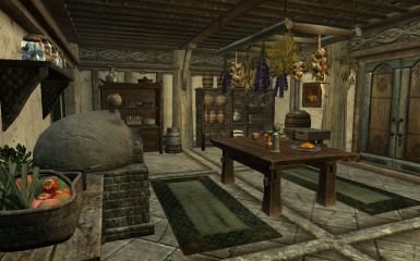 Shezrie S Hearthfire Kitchens And Greenhouses At Skyrim