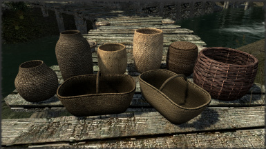 Realistic HD Baskets no ENB