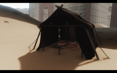 ... V&ire Canvas Tent ... & Dig Site -- Relic Hunter Tents for Campfire at Skyrim Nexus - mods ...