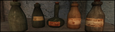Realistic HD Beverages Banner