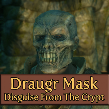 Draugr Mask - Disguise From The Crypt