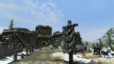 Fort Snowhawk Main Gate