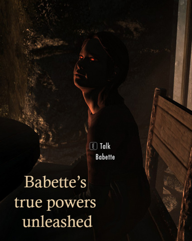vampire children and adoptible babette