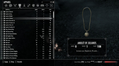 Skyrim Unlimited Rings And Amulets