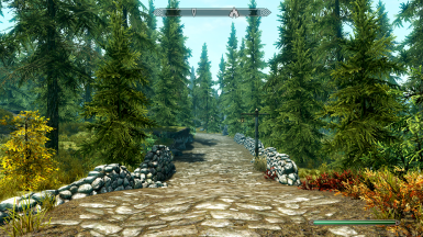 The road between Whiterun and Rorikstead