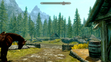 View from the Whiterun Stables