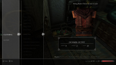 Dunmer Outfit