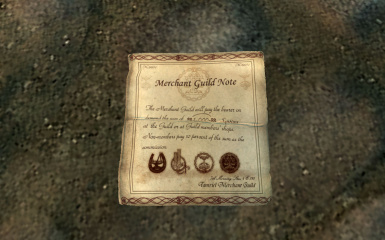 replace the texture of merchant guild note