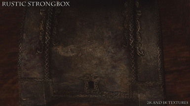 Rustic Strongbox 03
