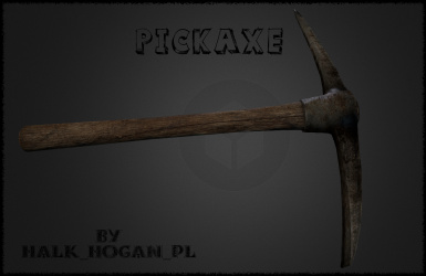 Realistic HD PickAxe