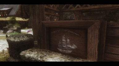 NobleSkyrimMod HD Crate with Rustic East Empire Company Signage