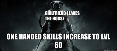 The Lusty Argonian Maid Increases One Handed