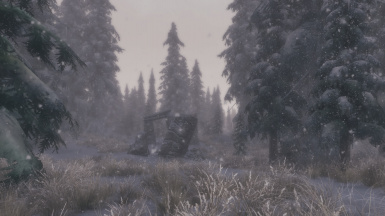 Real Skyrim Snowflakes - (Physical) Vivid Snow at Skyrim