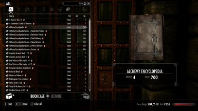 Alchemy Encyclopedia Complete Alchemy Book With Dlc Recipe At