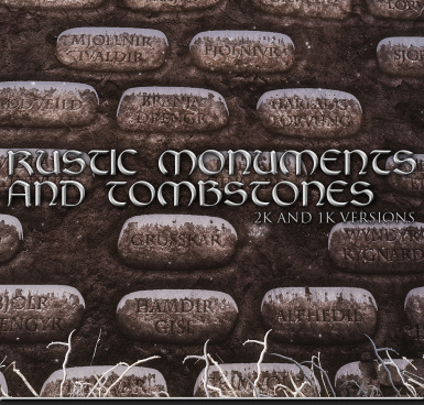 Rustic Monuments and Tombstones Cover