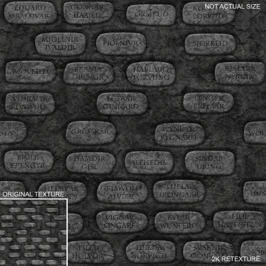Rustic Monuments Comparison 500 Wall