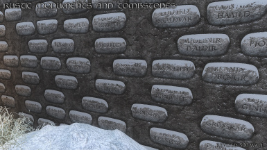 Rustic Monuments 500 Wall 04