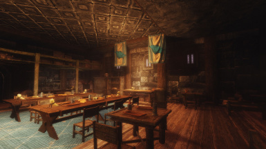 Windhelm Barracks Interior Overhall