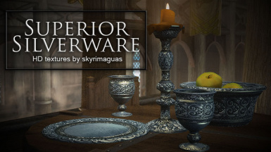 Superior Silverware - HD Textures