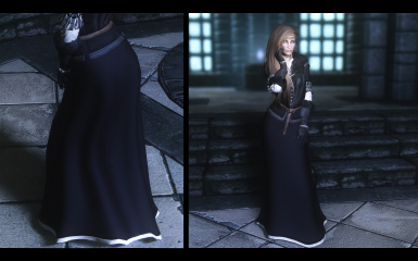 Yennefer dress 3 point 2 update
