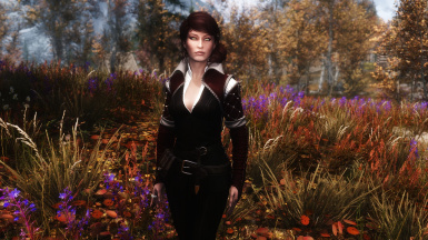 Black and Red Triss Outfit