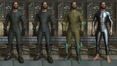 Male Orcish-Elven-Leather