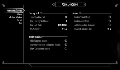 Complete Alchemy and Cooking Overhaul at Skyrim Nexus - mods