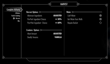 Complete Alchemy and Cooking Overhaul at Skyrim Nexus - mods and