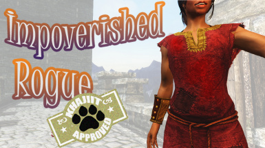 Impoverished Rogue - outfits for Bards and Mages