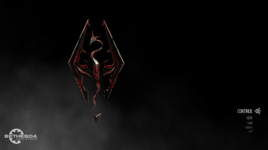 Main logo with blood