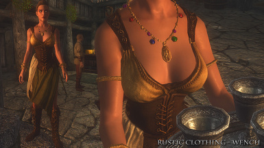 Rustic Clothing Wench Front