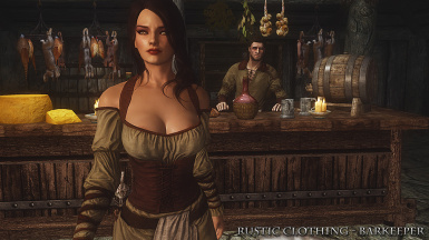 Rustic Clothing Barkeeper Front
