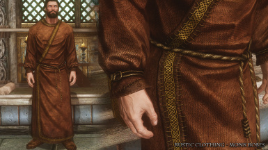 RC Monk Plain Robes
