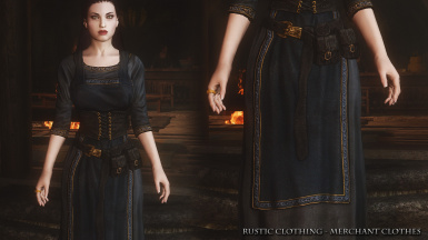 Rustic Clothing Merchant 04