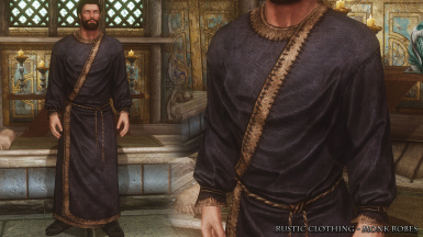 RC Monk Blue Robes