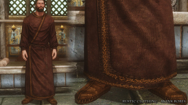 RC Monk Robes