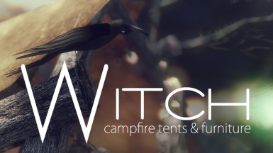 WITCH -- Campfire Tent