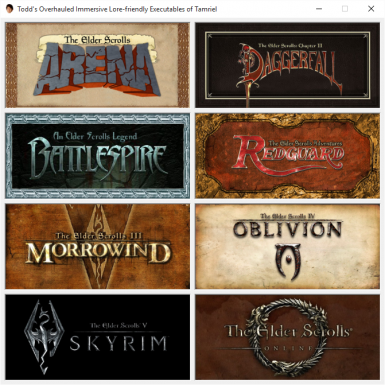 Todd's Overhauled Immersive Lore-Friendly Executables of Tamriel