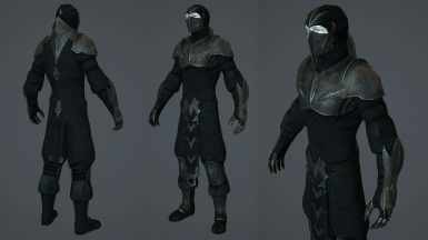 Outcast Shen Armor and weapon