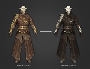 Outlandish Cultist Robes