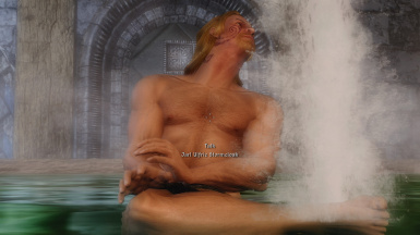 Every noble one should bathe just like this Ulfric here
