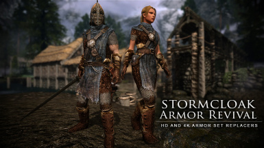 Stormcloak Armor Revival - HD and 4K textures
