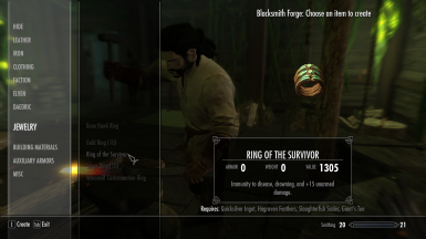Ring of the Survivor